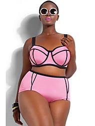 Women's Plus Size Underwire Top Bikini