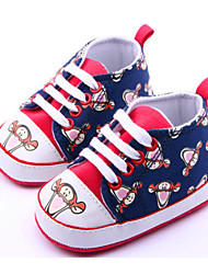 Zapatos de bebé - Sneakers a la Moda - Casual - Tela - Azul / Amarillo