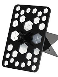 Hexagon New Simple Acrylic Makeup Eyeshadow Powder Cosmetic Brushes Dryer Organizer Holder Stand Storage (Black/White)