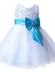 BHL Retail  Kids Girl Evening Dresses Pageant Dress Ball Gown Princess Wedding Party Dress For Toddler Girl SZ 2-8 Y