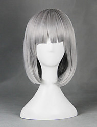 There Is No Yellow Boring World あんな にしきのみや Gray 55cm Cosplay Wigs