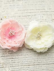 Women's Foam / Fabric Headpiece-Wedding / Special Occasion / Outdoor Flowers 1 Piece