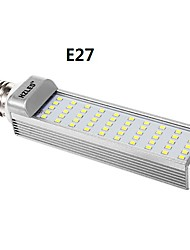 G24 / e27 10w 1250lm 6000K 50x2835smd koel wit licht LED lamp maïs (AC85-265V)