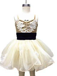 Vestidos(Como en la foto,Espándex / Satén elástico tejido / Encaje / Tul / Licra,Ballet / Danza Moderna / Desempeño) -Ballet / Danza