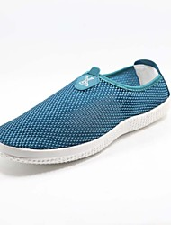 Men's Shoes Casual Tulle Fashion Sneakers Blue/Green/Gray