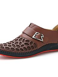 temporada idade inglaterra meninos usam sapatos de couro homens palhaço masculino sapatos de couro cabeça redonda
