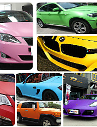 corps de film décoratif de voiture pour changer de couleur voiture de film autocollants taille: 1,52 m * 1m