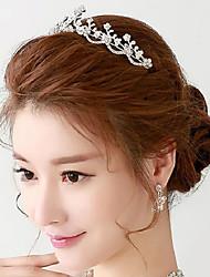 Exquisite Rhinestones Titanium Wedding/Party Headpieces/Tiara