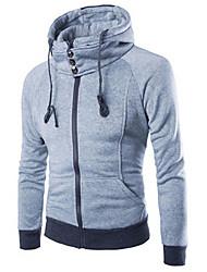MEN - Felpe con e senza cappuccio - Informale Felpa con cappuccio - Maniche lunghe Cotone / Raion