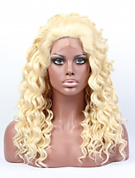 In Stock #613 Color 18inch Body Wave Synthetic Wigs,Lace Front Wig