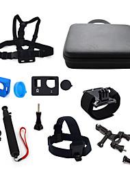 ourspop gp-k05 acessórios GoPro kit para GoPro Hero 4 GoPro Hero 3+ GoPro Hero 3