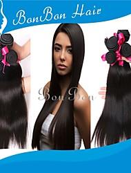"""10 """"-24"""" бразильские виргинские прямые волосы"""