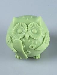 The Owl ,Animal Soap Mold  Fondant Cake Chocolate Silicone Mold, Decoration Tools Bakeware