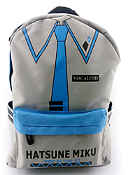 Bag Inspired by Vocaloid Hatsune Miku Anime/ Video Games Cosplay Accessories Bag / Backpack Gray Nylon Male / Female