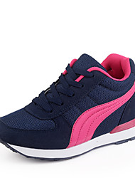 Running Women's Shoes Fabric/Tulle Blue/Red/Gray