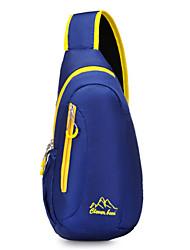 Для женщин Нейлон Спортивный / Для отдыха на природе Слинг сумки на ремне Синий / Красный / Черный