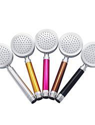 CALOUFU Aluminum Space Showerheads Handheld Showerhead Round Detachable Shower Nozzle Heater KLF-SH03 (Color Random)