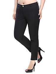 Prettyshow 2015 women new autumn large size XL-6XL casual skinny and slimming fashion long pants QA3JK0222