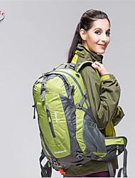 Paquetes de Mochilas de Camping ( Rojo/Negro/Verde Oscuro/Verde Claro/Azul Claro/Naranja , 50 L)  Impermeable/Listo para vestirAcampada y