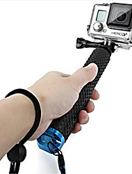 Gopro Accessories Telescopic Pole / Monopod / Hand Grips/Finger Grooves / Mount/HolderFor-Action Camera,Gopro Hero 5/4/3/3+/2/1 1pcsMetal