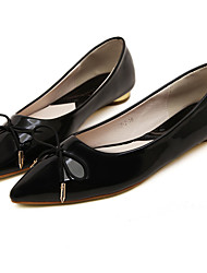 Women's Shoes Flat Heel Pointed Toe Flats Casual Black/Burgundy
