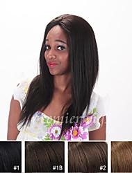 12''-26''Long Light Yaki Wigs Brazilian Virgin Human Hair Wigs Lace Front Wigs With Baby Hair For Black Women