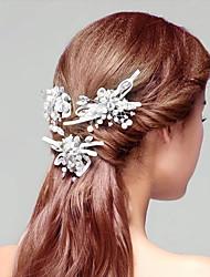 High Quality Rhinestones Wedding/Party Bridal Headpiecs with  Imitation Pearls