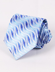 Gravatas ( Azul Claro , Poliéster ) Estampado