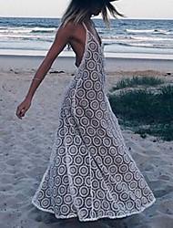 Maxi - Vestido - Playa - Otro - Cinturón no Incluido
