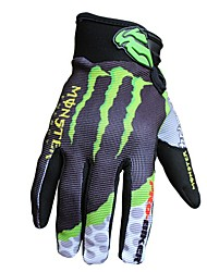 Motorrad-Handschuhe Vollfinger Nylon/Polyester/Lycra M/L/XL Wie abgebildet