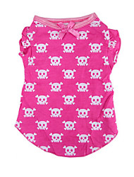 Foreign Trade Clothing Summer Dog Clothes Spring/summer Dress T-shirt Render Unlined Upper Garment