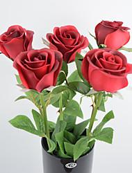 Hochzeitsdekoration 24 inch künstliches stieg 8 PC / Los real touch guten qaulity home decor künstlichen Blumen