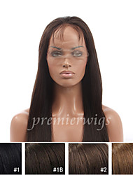 14''-20'' Yaki Remy Virgin Brazilian Human Hair Wigs Silk Top Lace Front Wigs With Baby Hair For Black Women