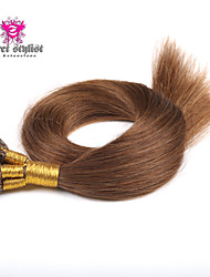 100g/lot Stock Dark Color Mongolian Remy Stick Tip Hair Extensions 20 inch I Tip Hair Extensions 100gram NEW!!!