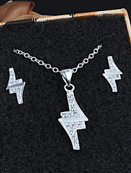 2015 Unique Design Necklace Set Trendy Round Pendant Necklace Earrings Women Jewelry Set Wedding & Engagement Jewelry