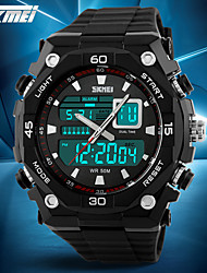 SKMEI® Men's Fashion Sporty Watch Analog Digital Display Calendar/Chronograph/Alarm/Water Resistant Cool Watch Unique Watch