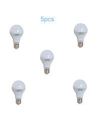 5pcs MORSEN® 3W  E27 10X2835SMD 200-270LM Light LED Ball Bulb