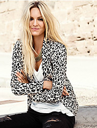 VOV     Women's Coats & Jackets , Cotton Sexy/Beach/Casual/Print VOV
