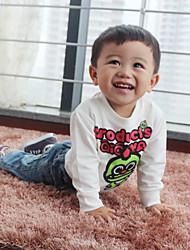 Kids T-shirt 2015 Novelty Cotton Boys Camisetas Sleeve Length Cartoon Knitted T Shirt  Loose Kids Apparel