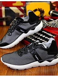 Men's Running Shoes Tulle Black/White