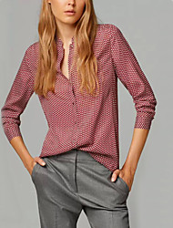 Women's Vintage Casual Micro-elastic Long Sleeve Long Shirt (Cotton)