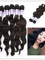 """3pcs / lot nova onda brasileira corpo cabelo # 1b 8 """"~ 34"""" trama do cabelo tecer qualidade superior por atacado"""