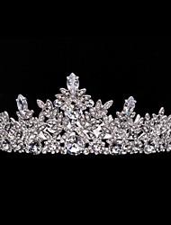 Neoglory Jewelry Wedding Crowns Leaf Tiara Bridal Hair Accessories Women Wedding Hair Jewelry Headpeice