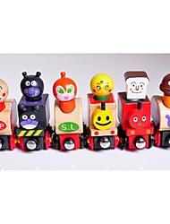 6 Magnetic Bread Little Train