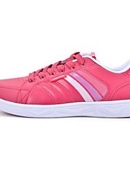 Zapatos de Mujer ( Rojo/Blanco Semicuero