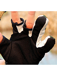 ESDY Angeln Handschuhe Drain drei Finger gleiten atmungsaktive Verschleiß