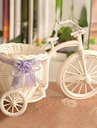 Bicycle Style Flower Basket Artificial Flower Arrangement Home / Wedding Decor