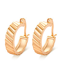 Women's 18K Gold Plating Individuality Earrings