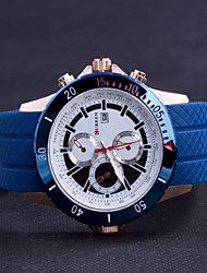 Men'S Watch Leisure And Business Fishtion Silica Gel Watch Wrist Watch Cool Watch Unique Watch