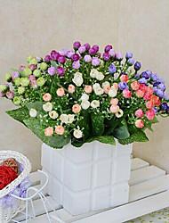 hoge kwaliteit kunstbloemen voor woninginrichting heldere kleuren zijden bloemen voor vakantie decoraties